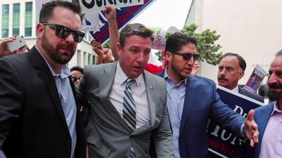 California congressman Hunter pleads guilty in corruption case