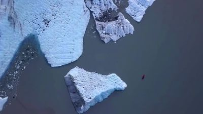 Record glacial melt in Alaska, climate activists demand action