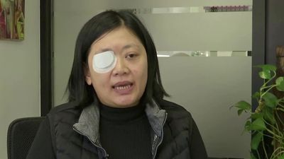 Hong Kong journalist seeks justice after losing right eye