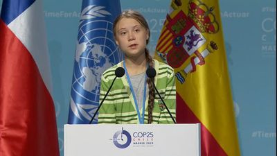 "Activist Thunberg denounces ""creative PR"" in climate fight"