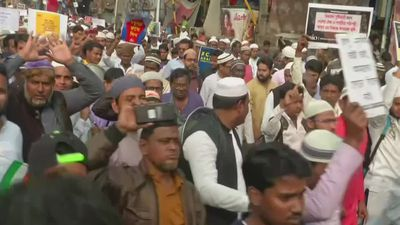 Muslims in India protest 'anti-secular' Citizenship Act