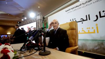 Algeria declares former PM winner of presidential election