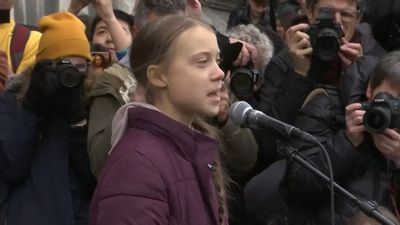 'You have not seen the last of us': Greta Thunberg