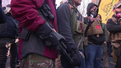 Armed activists rally for gun rights in Virginia