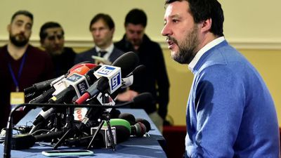 Italy's Salvini fails to seize left's stronghold