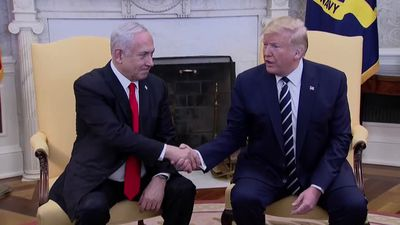 Trump says Palestinians may reject his long-awaited peace plan