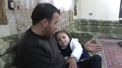 Meet the Syrian father turning the sound of war into a game