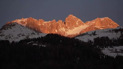 Climate change keeps Italy's alpine rescuers busy