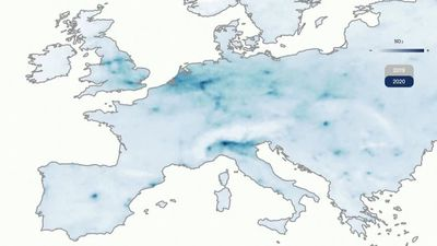 Lockdowns give Europe's cities cleaner air
