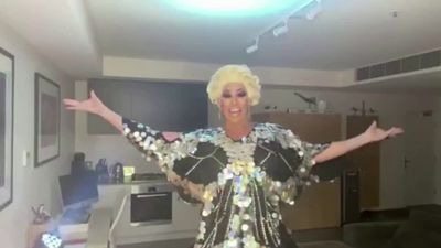 What a drag! Isolated Aussie queen streams show