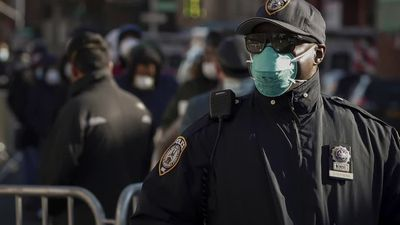Coronavirus hits U.S. police forces amid protective gear shortages