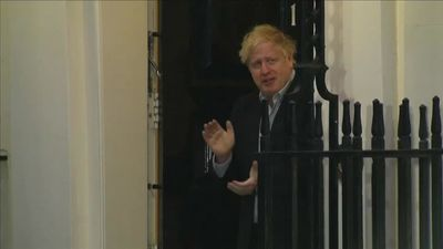 U.K. PM Johnson, battling coronavirus, is hospitalized