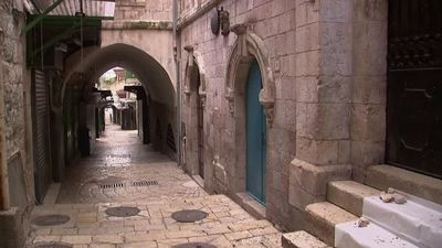 Jerusalem's Via Dolorosa empty due to coronavirus fears