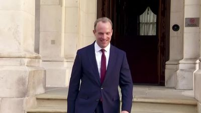 Who is Dominic Raab, Britain's interim leader?