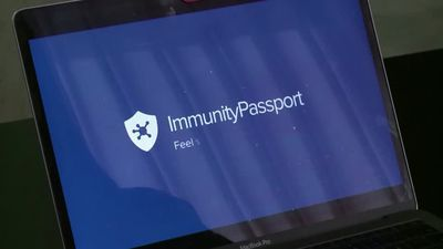 A digital 'immunity passport' is tested, with caution