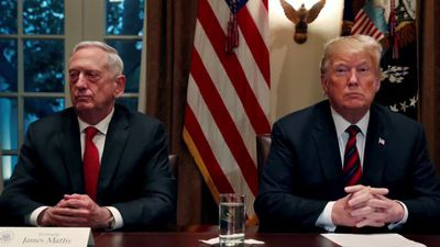 Mattis breaks silence to denounce Trump