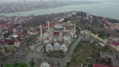 Court weighs bid to turn Hagia Sophia into mosque