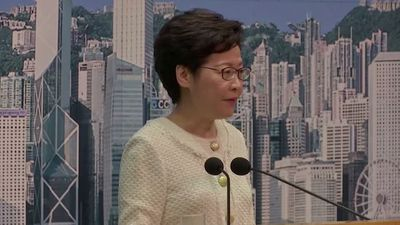 "Hong Kong security law is not ""doom and gloom"""