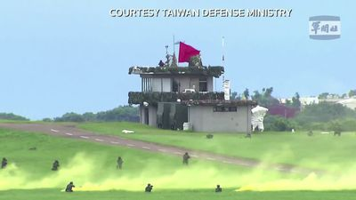 Taiwan holds drills amid China tensions