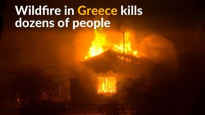 At least 50 killed by Greek wildfire