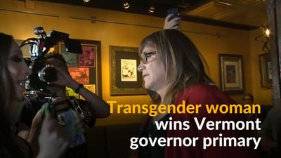 First transgender woman wins democratic nomination for Vermont governor