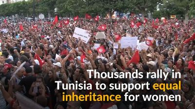 Tunisians push for equal inheritance rights for women