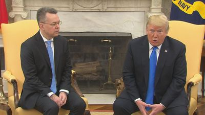 Trump thanks Turkey for pastor's release