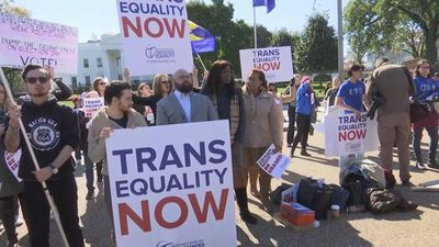 Trans activists fight Trump plan to roll back rights