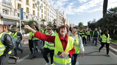 French protesters block roads over fuel-tax rise