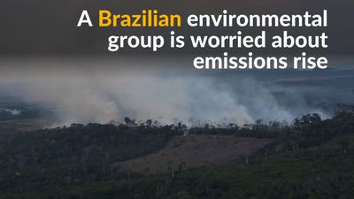 Brazilian environmental group fears emissions rise under new government