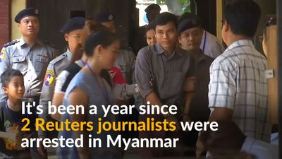 One year on since the arrest of two Reuters journalists