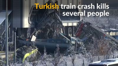 Train crash in Turkey kills several people