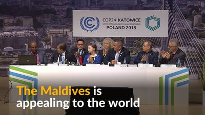 'We are not prepared to die', Maldives tell U.N. climate talks