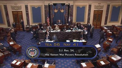 U.S. Senate rebukes Saudi Arabia - and Trump