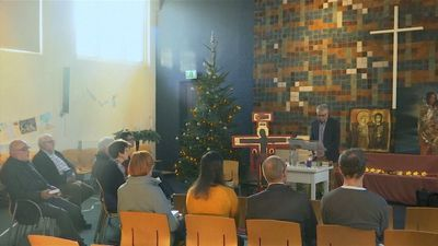 A Dutch church is holding a marathon service to block a family's Christmas deportation