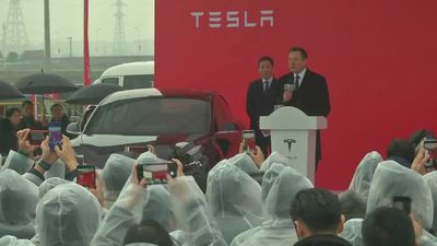 Tesla's Gigafactory to launch China push