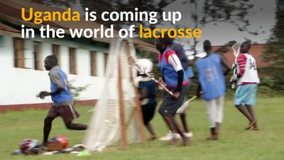 Uganda's lacrosse players encourage youth to embrace the sport