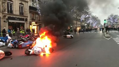France launches national debate over protests