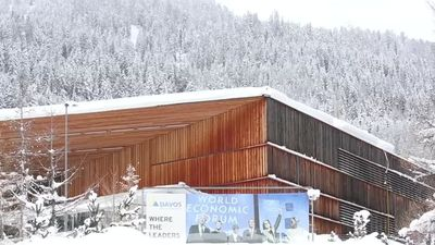 Stage sets for WEF Davos, but some big players absent