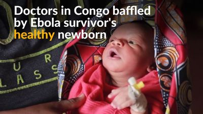Congolese Ebola survivor gives birth to healthy baby
