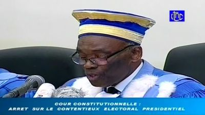 Congo top court declares winner in election