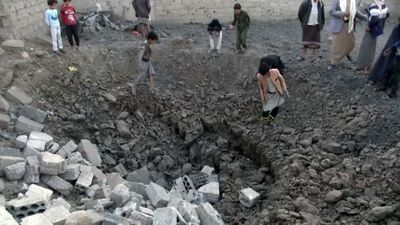 Saudi-led coalition planes pound Yemen's capital