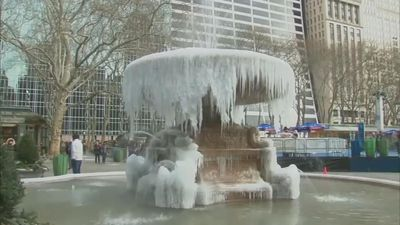 Deadly deep freeze grips eastern U.S.