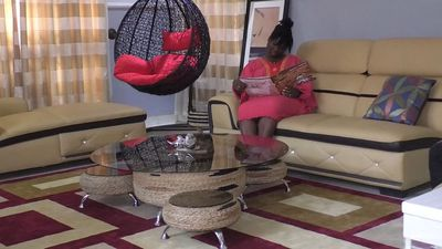 Ghanaian student transforms tires into furniture