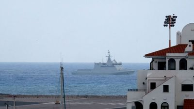 Spanish warship orders ships to leave British waters near Gibraltar
