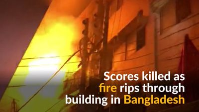 Fire breaks out in Bangladesh killing at least 70 people