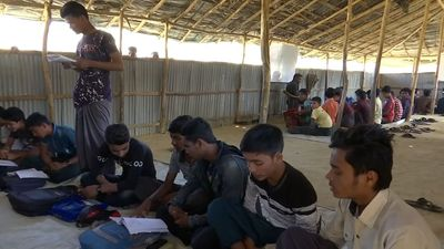 Rohingya 'lost generation' fight for right to education in Bangladesh camps