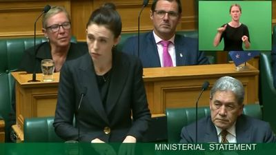 'When I speak, he shall be nameless': PM Ardern voices New Zealand's grief