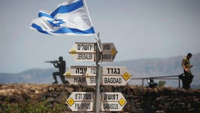 Trump backs Israel's sovereignty over Golan