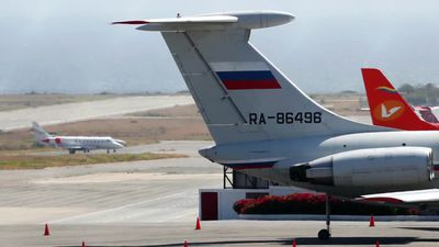 Russian jets in Caracas? No good, says U.S.